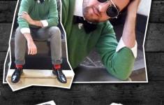 Look Cashmere e Sapato de Verniz