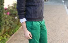 Look Lenço e Calça Verde | Tonanni