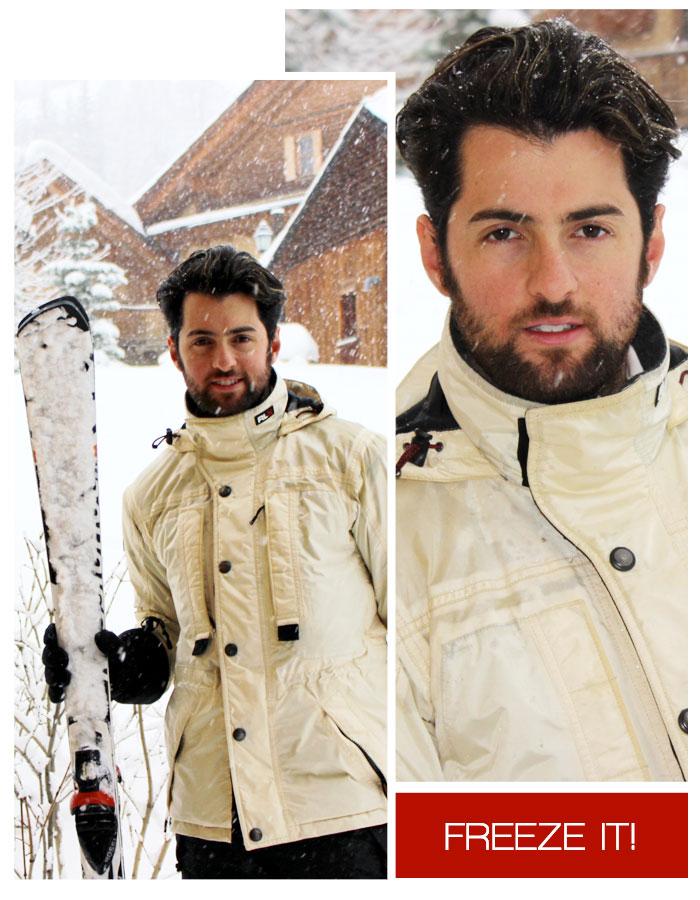 Ski Neve Moda Masculina