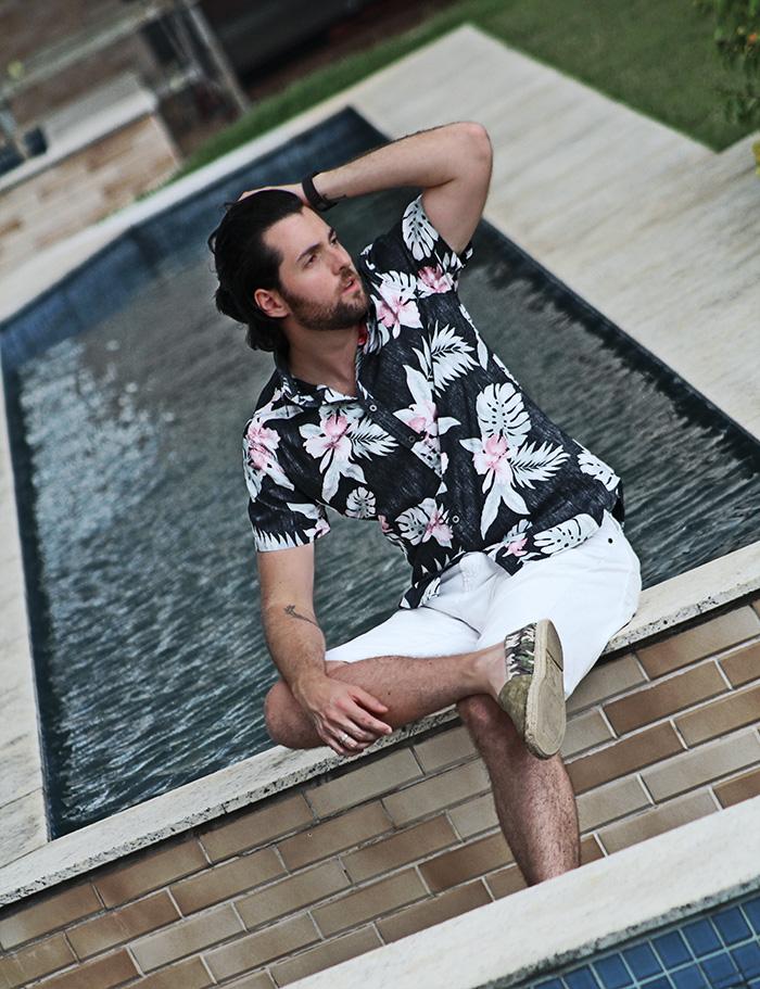 Camisa Floral Masculina Tonanni