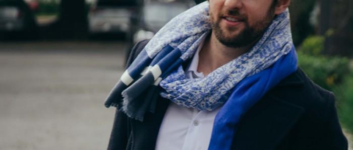 Tonanni Casaco de Lã Moda Masculina