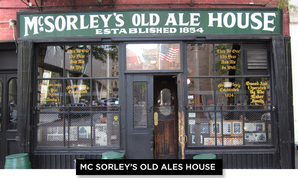 Mc Sorleys Old Ales House