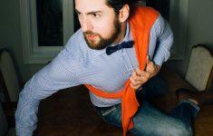 Get The Look! Camisa com Malha Laranja