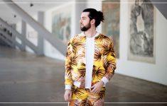Conjunto Estampado Amarelo | Look 2 SPFW N42