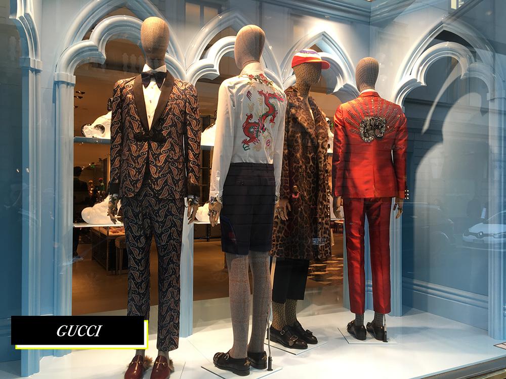 Gucci Quadrilatero Della Moda