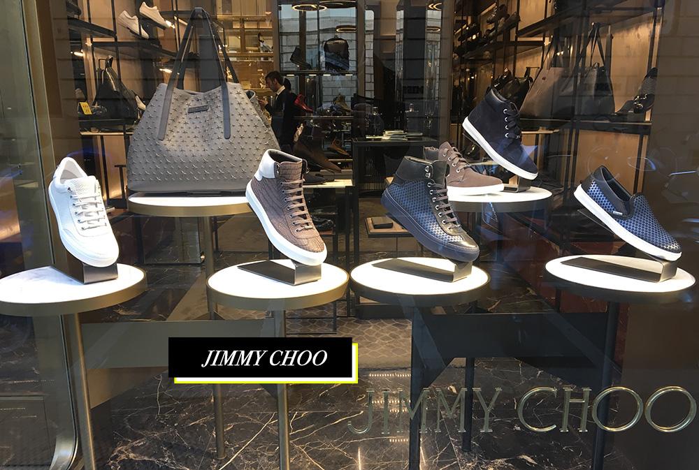 Jimmy Choo Quadrilatero Della Moda